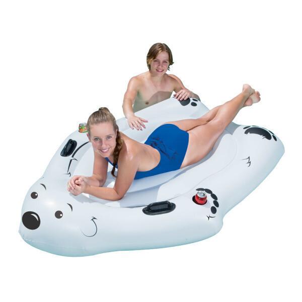BW 14050 북극곰 라운지 튜브/물놀이튜브/예쁜튜브 상품이미지