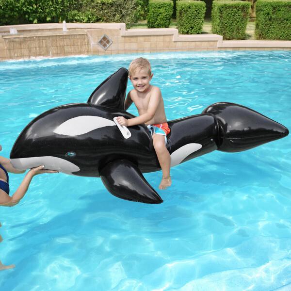 BW 41009 타고노는 점보고래 라이더튜브/물놀이튜브 상품이미지