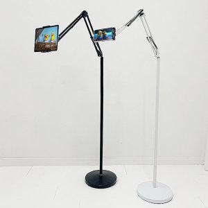 U64 블랙 핸드폰 태블릿 pc 아이패드 자바라 거치대 상품이미지