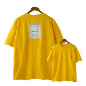 스트릿 오버핏 여자 반팔티 /커플티 남녀 티셔츠 3155