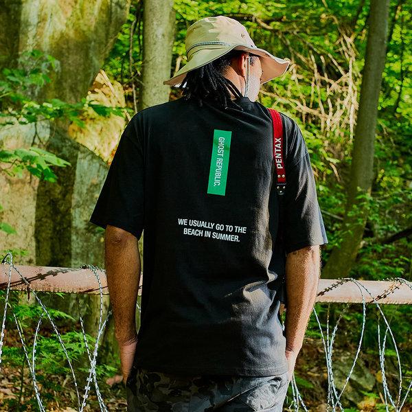 남녀 오버핏 프린팅 반팔티 / 남자 티셔츠 GT3161 상품이미지