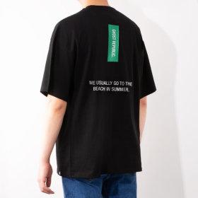 남자 빅사이즈 반팔티셔츠 / 오버핏 남성 티셔츠 3161