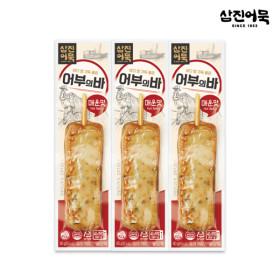 [삼진어묵] 어부의 바 (매운맛) 1개 80g x3개