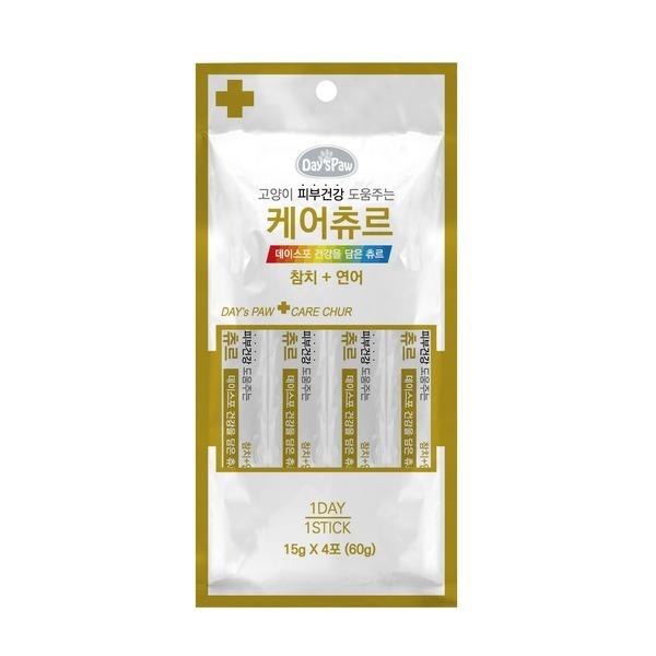 데이스포 케어츄르 참치+연어 (피부건강) 4p 상품이미지