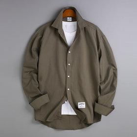 리얼 빅사이즈 남자 셔츠 오버핏 남성 셔츠 무지 534