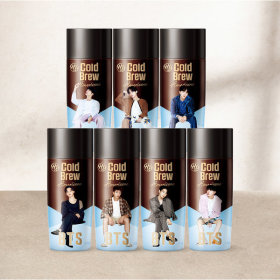 BTS Cold Brew Americano 270ml Random Shipping 8+4pcs