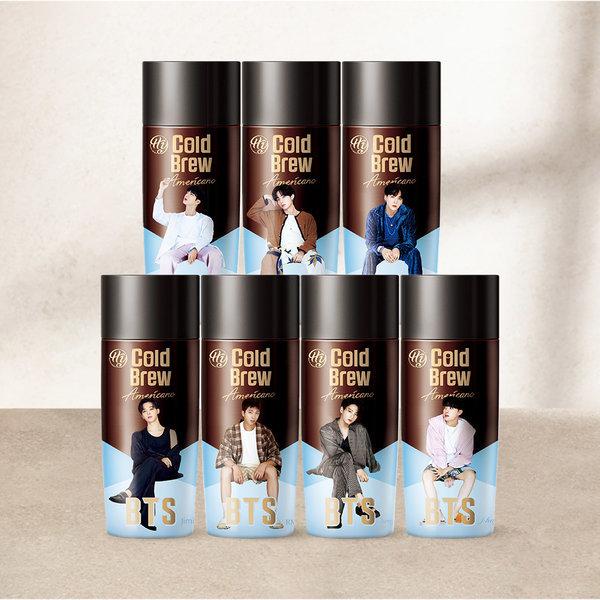 BTS 콜드브루 아메리카노 270ml 랜덤배송 8+4 상품이미지