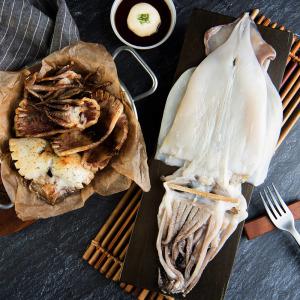 영덕 반건조오징어(피데기) 대 5미 600g 내외
