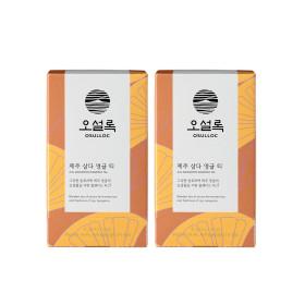 본사직영 제주삼다영귤티 20입(티백) 1+1 /녹차