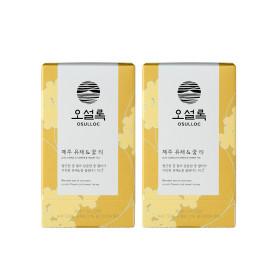 본사직영 제주유채꿀티 20입(티백) 1+1 /녹차/꽃차