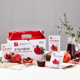 NFC착즙100% 맑은농장 유기농 석류100 30포/1박스
