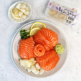 연어 소스 락교와 초생강60g(단일상품 주문 불가)
