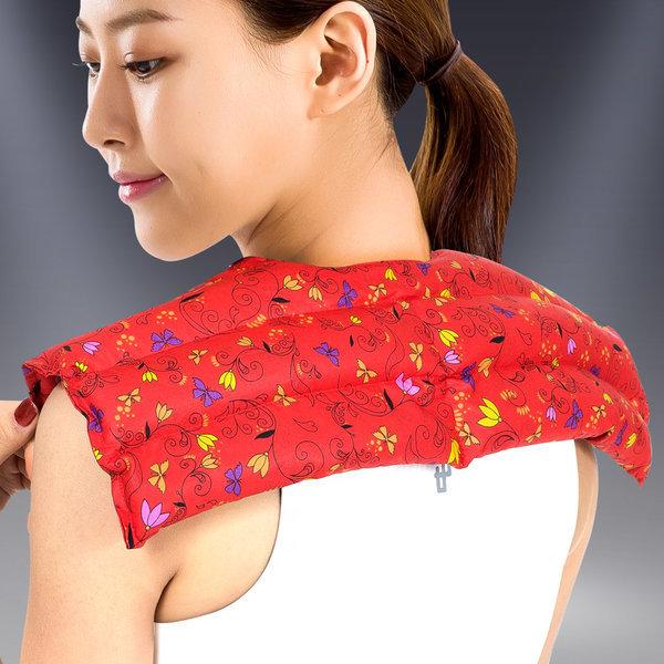 허브 어깨 찜질팩 실속형 레드 상품이미지