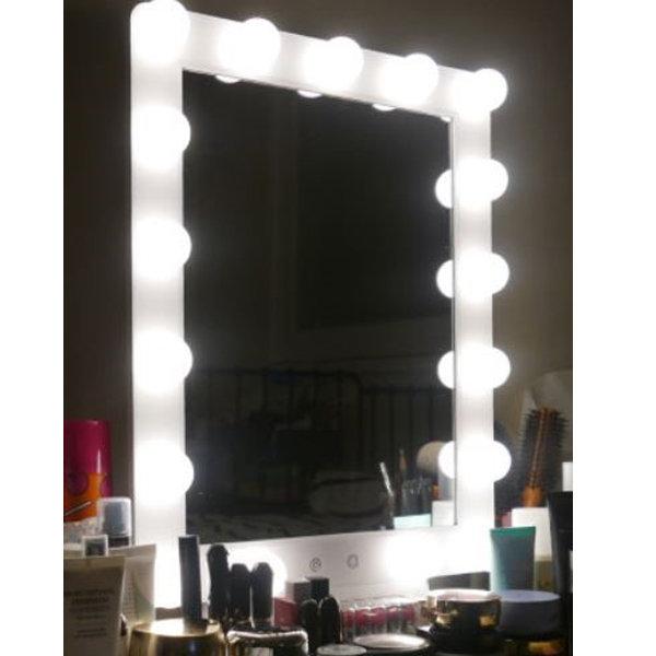 LED 화장 거울 연예인 조명 공주 화장대 탁상 스탠드 상품이미지