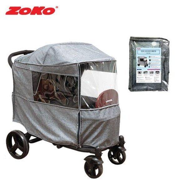갤러리아  ZOKO 조코시리즈 멜란지 방풍커버(트윈밴웨건 전용) 상품이미지
