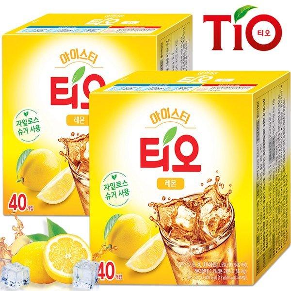 (동서식품)  티오  티오 아이스티 레몬맛 40+40T /분말차 상품이미지