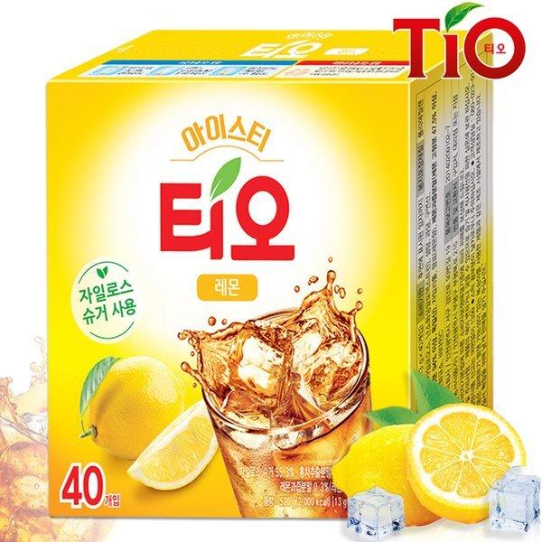 (동서식품)  티오  티오 아이스티 레몬맛 40T /분말차 상품이미지