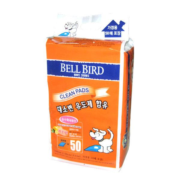 벨버드 패드 레몬 50매 x 4개 강아지패드 상품이미지