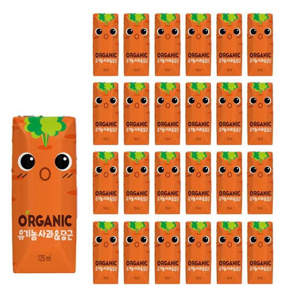 오가닉 사과당근 125ml 24입 1박스 +사은품 상품이미지