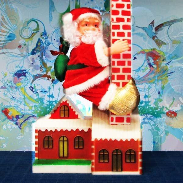 C204/산타인형/크리스마스선물/크리스마스인형 상품이미지