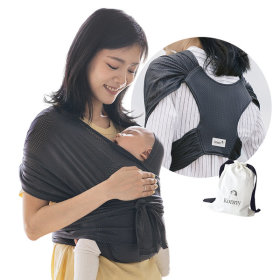 Konny Baby Carrier SUMMER Charcoal