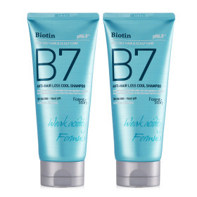 B7 약산성 탈모 샴푸 COOL 1+1 / 200ml+200ml