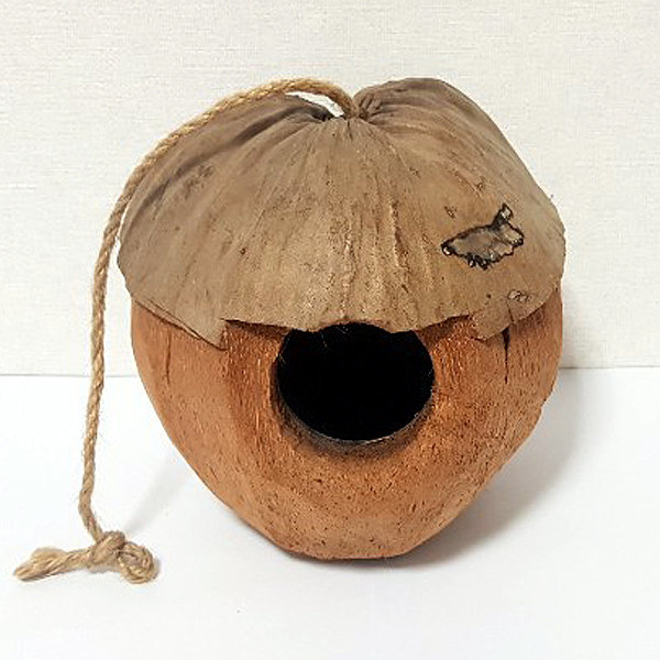 천연코코넛열매둥지/은신처/다람쥐은신처/슈가은신처 상품이미지