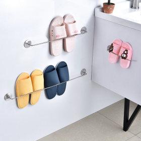 인블룸 1+1세트 벽부착형 심플 실내화정리대 2인용