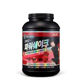 칼로바이 파워쉐이크 프로틴 헬스보충제 딸기맛 2kg