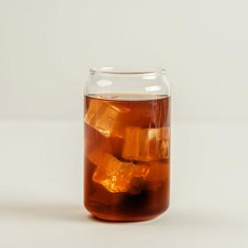 인블룸 1+1세트 커피프렌즈 카페 유리컵 400ml