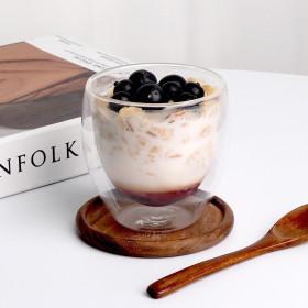 인블룸 1+1세트 이중유리컵(250ml)