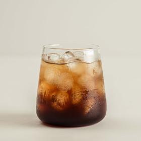 인블룸 1+1세트 북유럽스타일 심플 투명유리컵 450ml