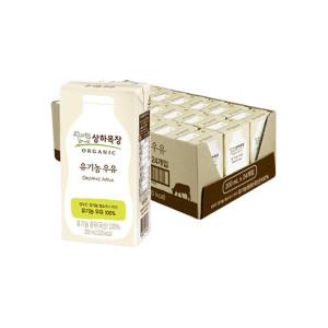 [매일유업]상하목장 유기농 멸균우유 190ML 24팩