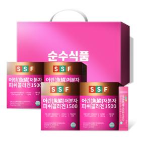 저분자 피쉬 콜라겐 1500 스틱 6박스(180포) 비타민C
