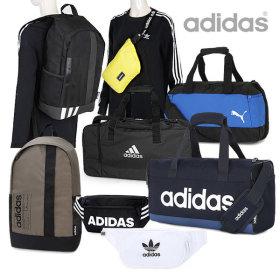 [NIKE] Brasilia team bag / duffle bag / zip closure / logo print /