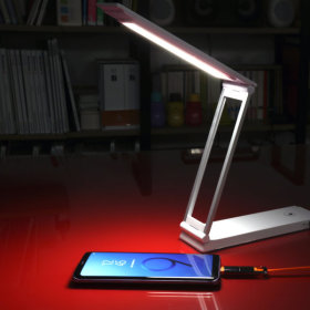 NEXT-121LAMP-C 휴대용 배터리 시력보호 LED스탠드