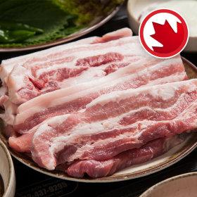 (행사상품)돼지삼겹살 캐나다산 _100 g