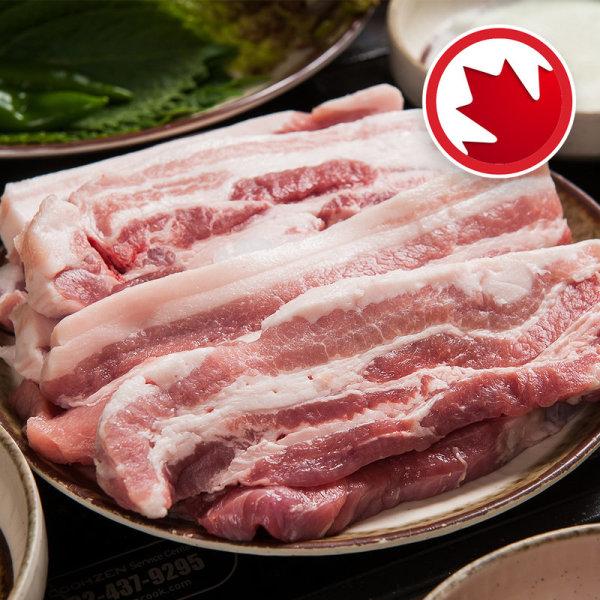 (행사상품)보리먹고자란돼지삼겹살 캐나다산 _100 g 상품이미지