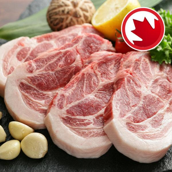 돼지목심 캐나다산  100 g 상품이미지
