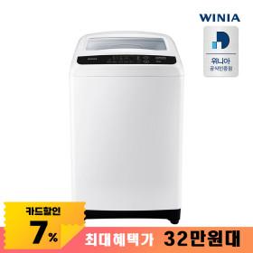 위니아대우 공기방울 11kg 통돌이 세탁기 EWF11GCWK
