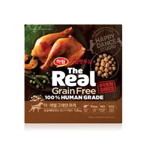 더리얼 그레인프리 오븐베이크드 닭고기 어덜트 1.6kg