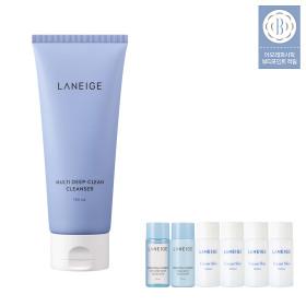 Multi Deep Clean Cleanser 150ml/pore sebum foam cleansing face wash