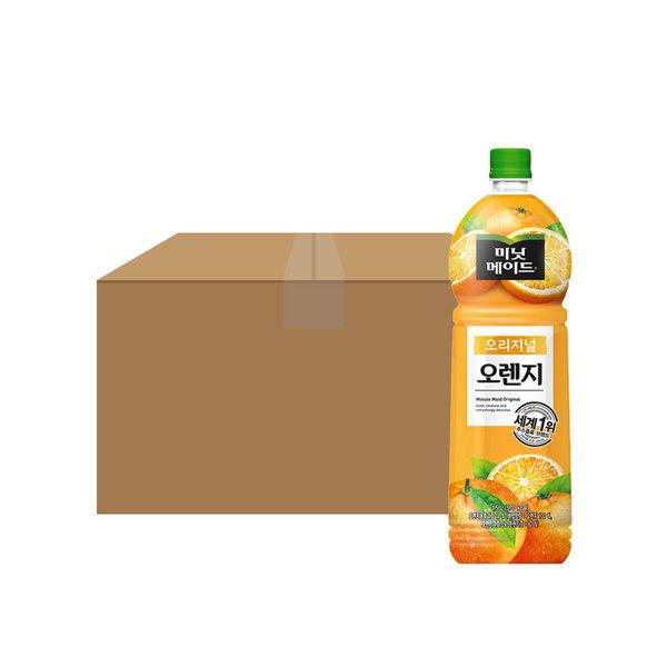 미닛메이드 오렌지 1.5L/1.5PET X12 1박스 상품이미지