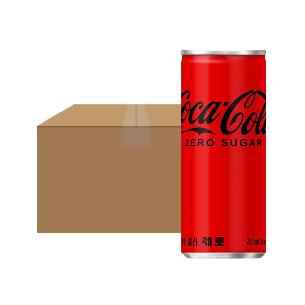코카콜라제로 250ml 30CAN  1박스 상품이미지