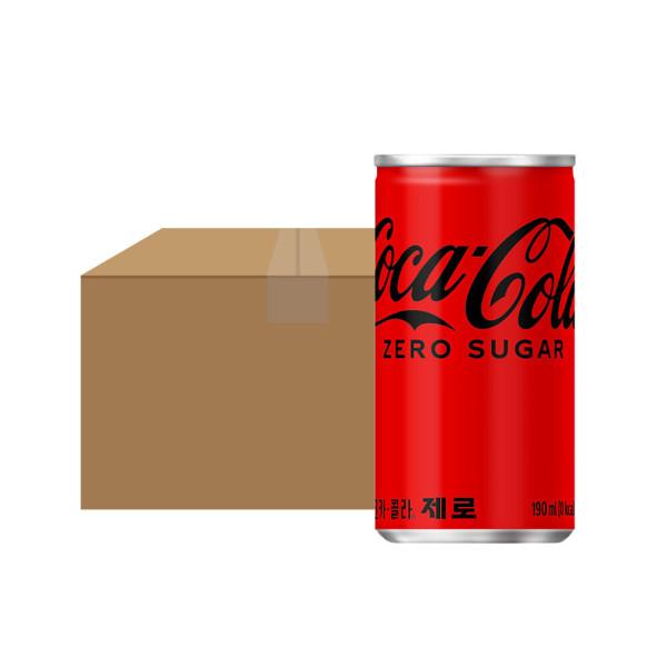 코카콜라제로 190ml 30CAN 1박스 상품이미지