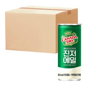캐나다 진저에일 250ml x 30입