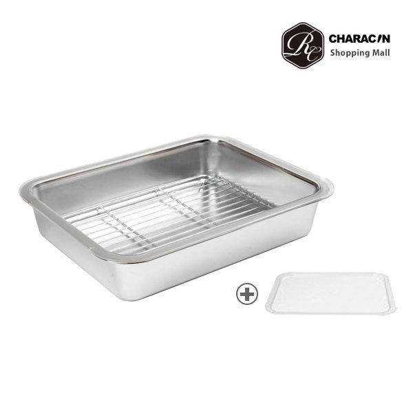 카라신 밧드/스텐 트레이세트 깊은형L/냉장고정리함 상품이미지