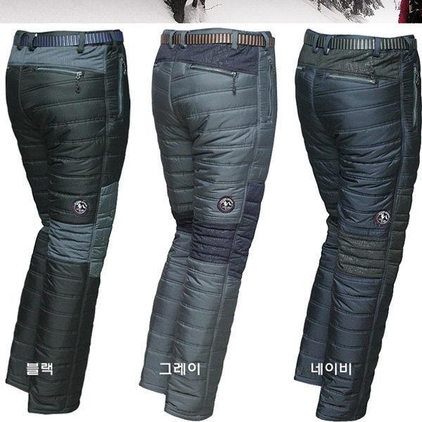 패딩바지/방한복/기모바지/겨울작업복/솜바지/낚시복 상품이미지