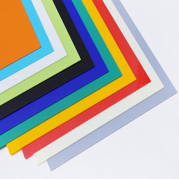투명(불투명)칼라아크릴판 240x350mm/아크릴판/아크릴 상품이미지