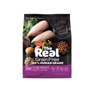 더리얼 캣 그레인프리 크런치 닭고기 어덜트 1.6kg